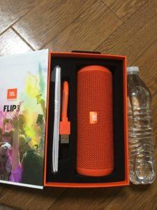 JBL FLIP3 オレンジ箱2